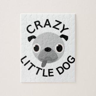 Puzzle Perro loco del barro amasado pequeño