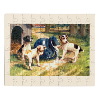 Puzzle Perros hermosos