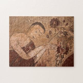 Puzzle Pintura budista antigua