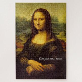 Puzzle Pintura famosa: Mona Lisa, por Leonardo da Vinci,