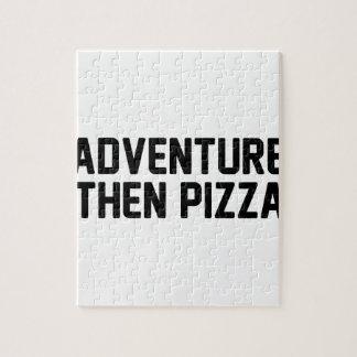 Puzzle Pizza de la aventura entonces
