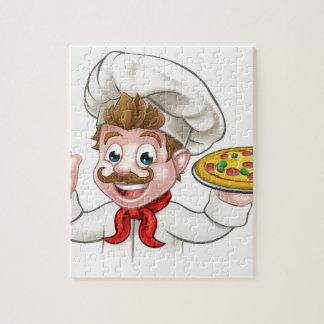 Puzzle Pizza del cocinero del dibujo animado