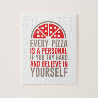 Puzzle Pizza personal