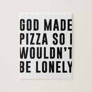 Puzzle Pizza sola