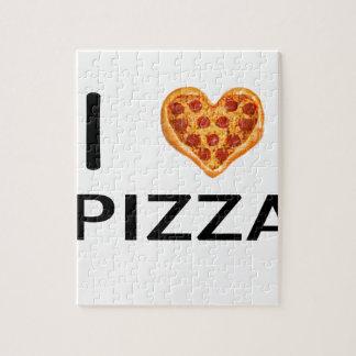 Puzzle Pizza y amor