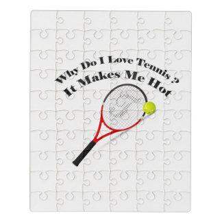 Puzzle Porqué lo hace el tenis del amor de I. Me hace