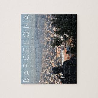Puzzle Postal de Barcelona