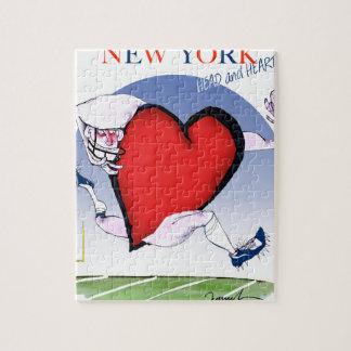 Puzzle Principal y corazón, fernandes tony de Nueva York