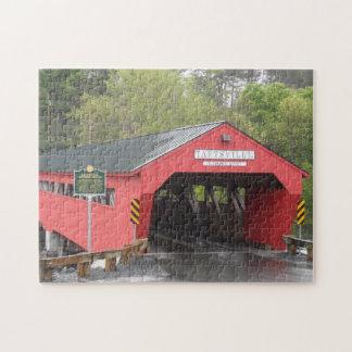 Puzzle Puente cubierto de Taftsville, Vermont