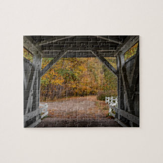 Puzzle Puente cubierto del camino de Everatt