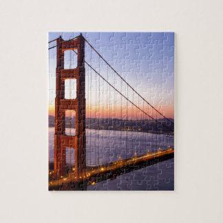 Puzzle Puente Golden Gate San Francisco en la salida del