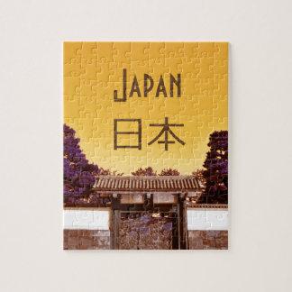 Puzzle Puerta del templo en Tokio, Japón