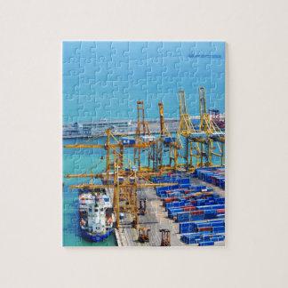 Puzzle Puerto de Barcelona