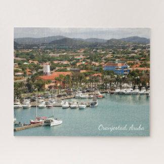 Puzzle Puerto deportivo de Aruba