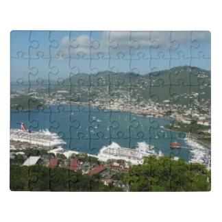 Puzzle Puerto en las Islas Vírgenes de St Thomas los