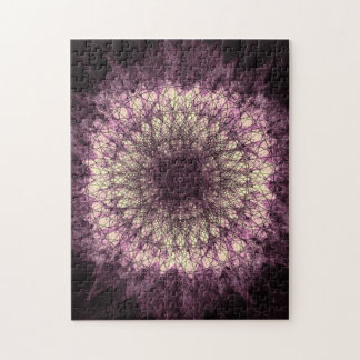 Puzzle Purple Mandala