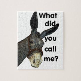 Puzzle ¿Qué usted me llamó?