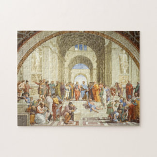 Puzzle Raphael - La escuela de Atenas 1511