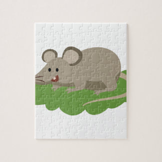 Puzzle rata linda del ratón
