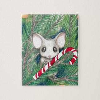 Puzzle Ratón del navidad