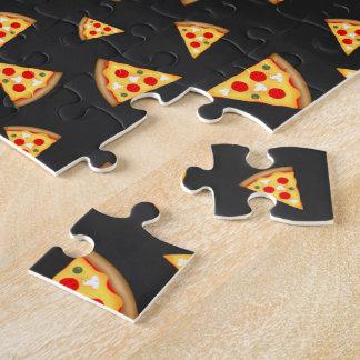 Puzzle Refresqúese y la pizza de la diversión corta el