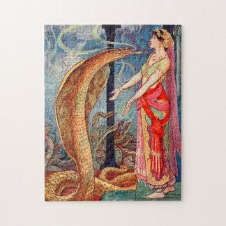 Puzzle Reina de las serpientes