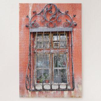 Puzzle Rejillas de la ventana del vintage