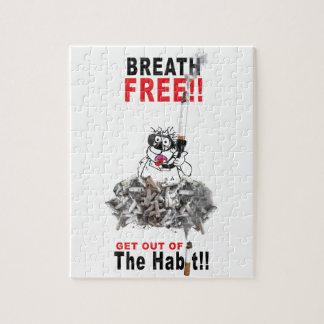 Puzzle Respire libremente - PARE el FUMAR