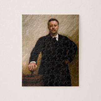 Puzzle Retrato de Theodore Roosevelt por Sargent