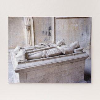 Puzzle Rey Duarte y tumba Portugal de la reina Eleanor