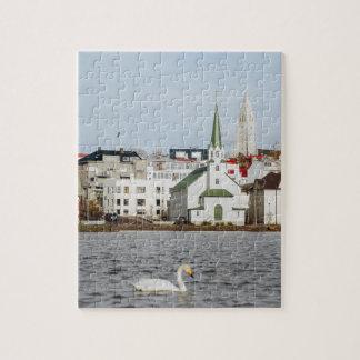 Puzzle Reykjavik Islandia