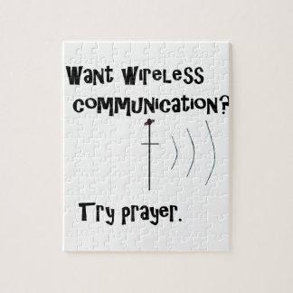 Puzzle Rezo inalámbrico de la comunicación