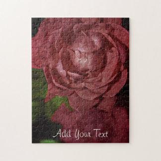 Puzzle Rosa rojo agrietado de Shirley Taylor