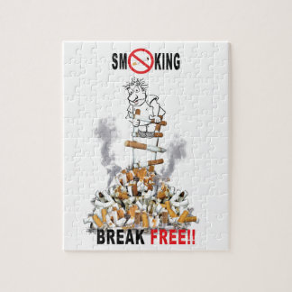 Puzzle Rotura libre - pare el fumar