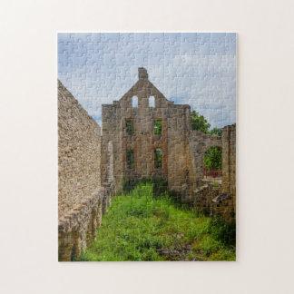 Puzzle Ruinas vacías del sitio