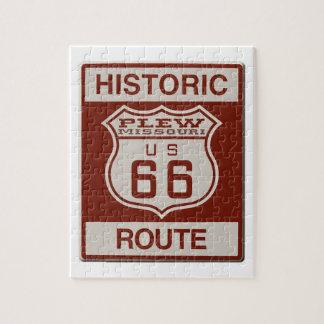 Puzzle Ruta 66 de Plew