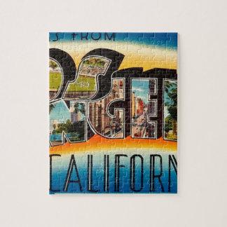 Puzzle Saludos de Los Ángeles