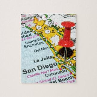 Puzzle San Diego, California