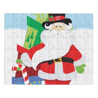Puzzle Santa de la parte alta