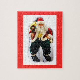 Puzzle Santa festivo