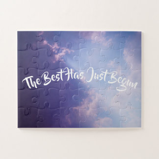 Puzzle Se nubla el texto de encargo inspirado del cielo