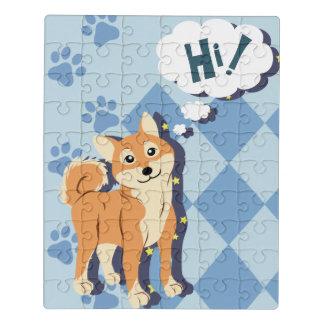 Puzzle Shiba pensativo Inu