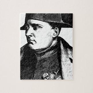 Puzzle Silueta de Napoleon