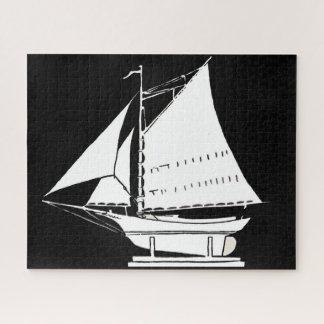 Puzzle silueta del velero