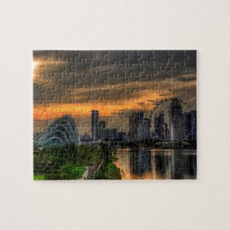 Puzzle Singaporecity Goldenhour