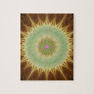Puzzle Sol de la mandala del fractal