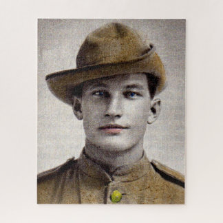 Puzzle soldado hermoso de la guerra Boer