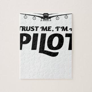 Puzzle Soy piloto