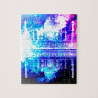 Puzzle Sueños del Taj Mahal del cielo de la creación