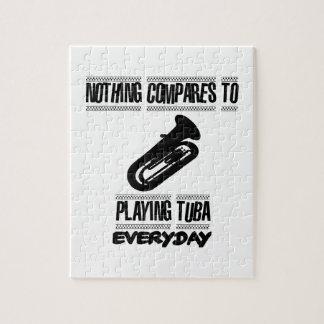 Puzzle Tender diseños del jugador de la tuba